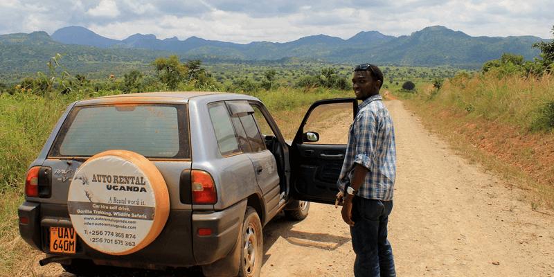 Car rental driver