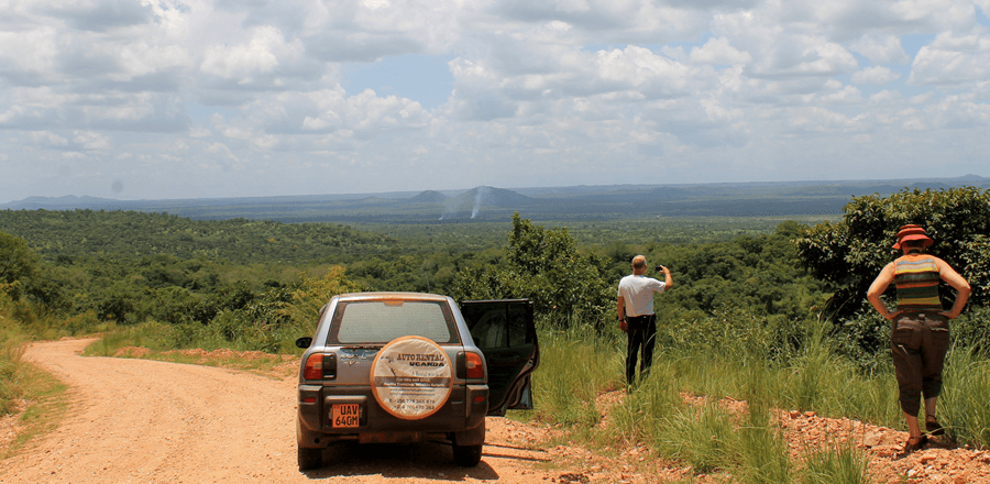 Self drive car hire Uganda