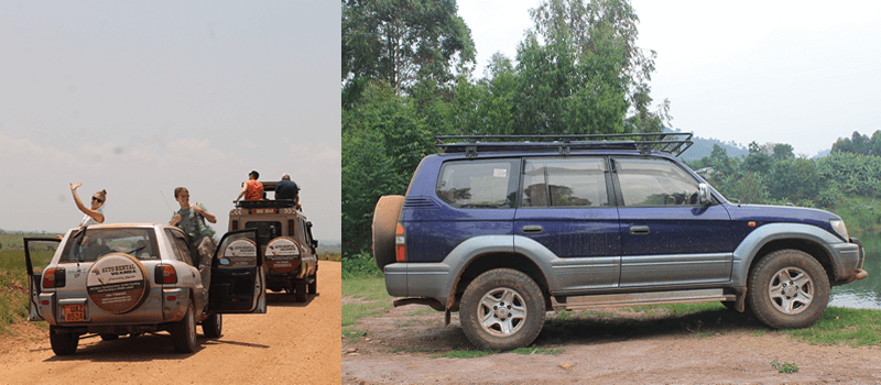 Ugand safari drive